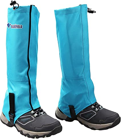 Kids Hiking Leg Gaiters Snow Boot Gaiters Waterproof Walking High Leg Cover
