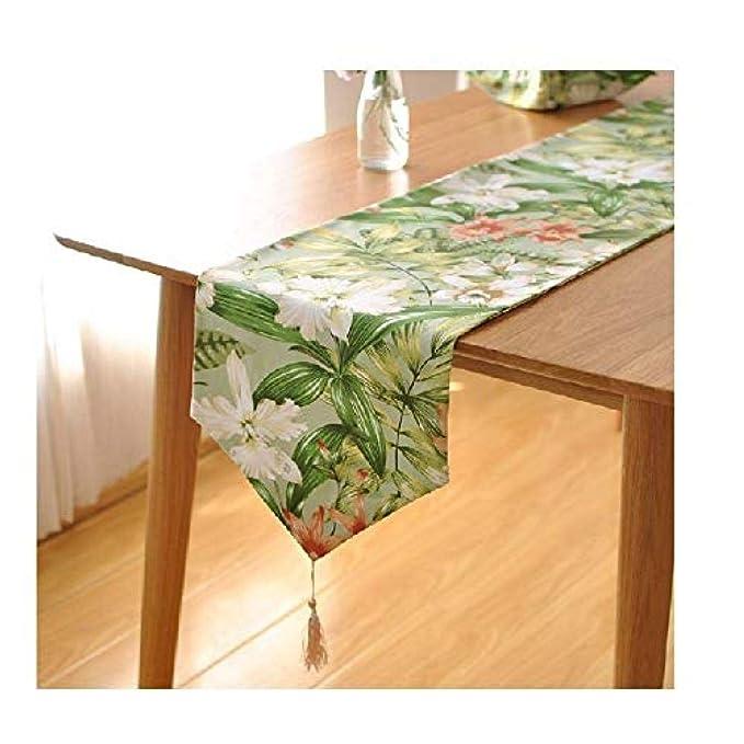 Camino de mesa manteles de papel de navidad Mesa de campo idílica ...