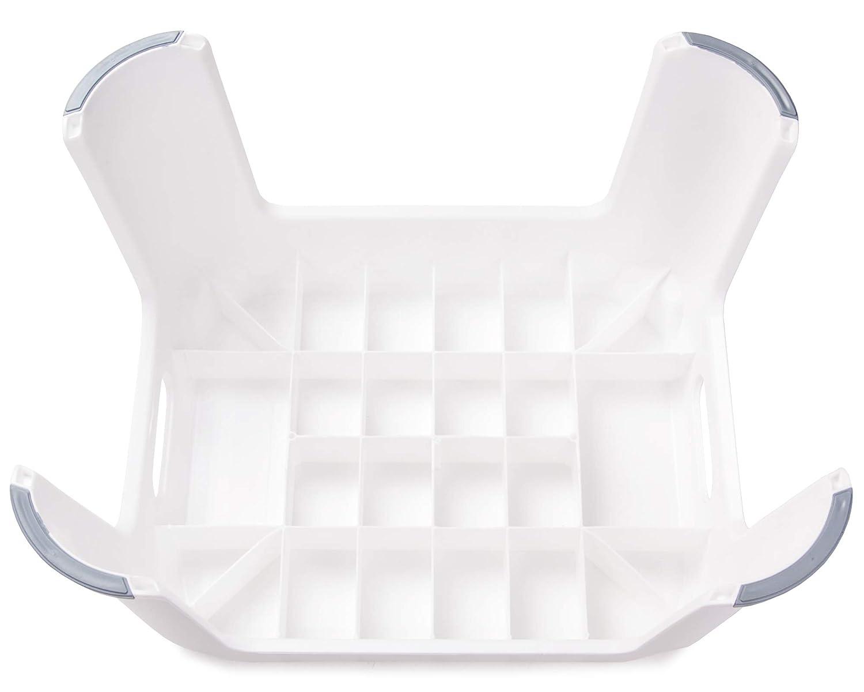 schwarz//Noppen Ondis24 Tritthocker Step Stool mit Gummi Antirutschschutz bis 150 kg belastbar