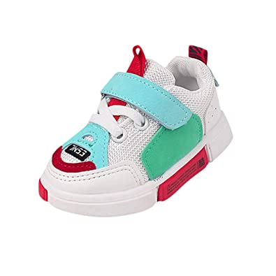 5461805fd33f2 Angelof Tissu De Maille Basket Enfants Chaussures Confortables Fille GarçOn  BéBé Unisexe Enfant Vetement Hiver Souple