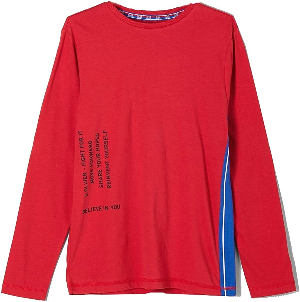 3255 s.Oliver Jungen Shirt Longsleeve 61.812.31.8422 Rot