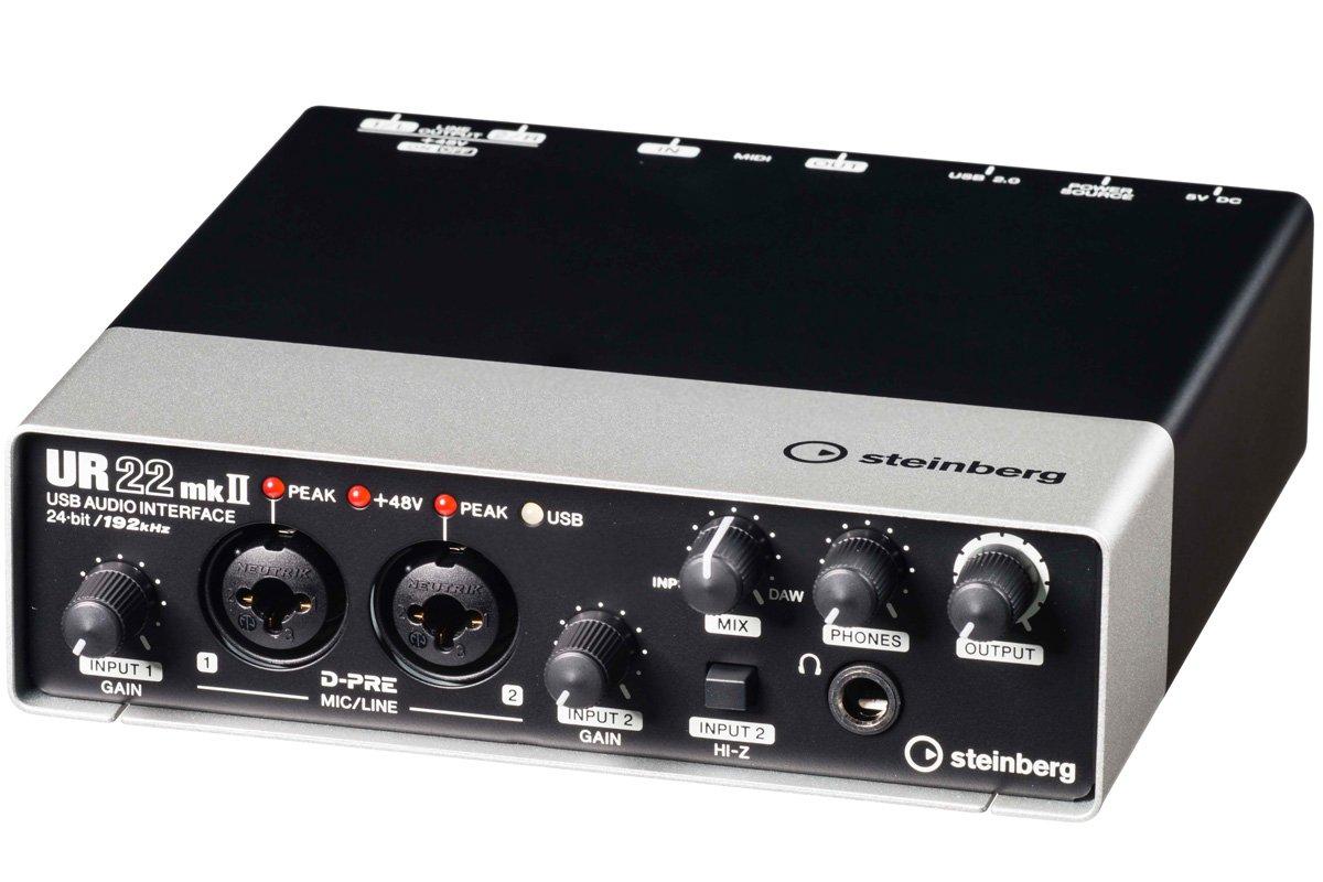 Yamaha Steinberg UR22MKII 2-Channel USB Interface