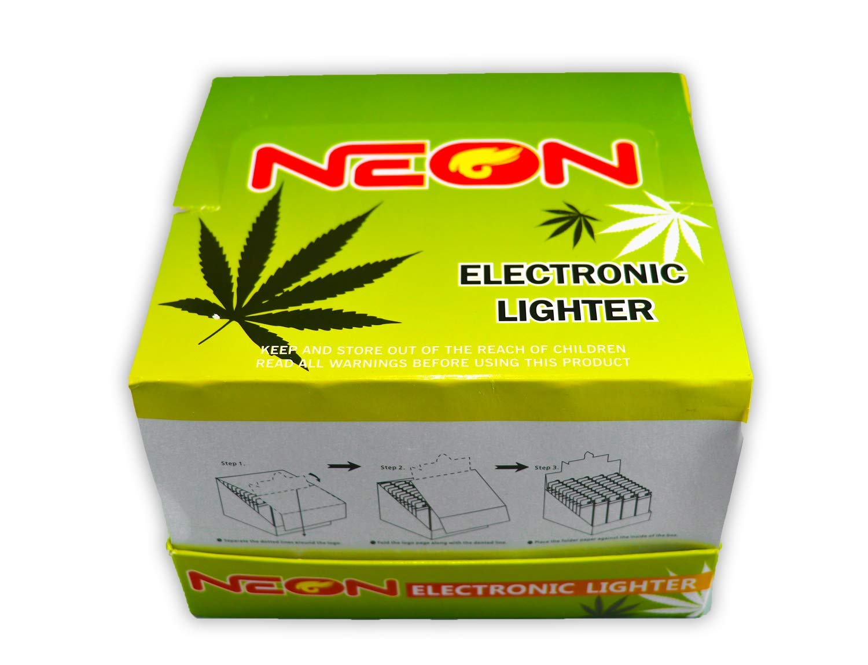 Amazon com: Hemp Art Cigarette Neon Electronic Disposable Lighters