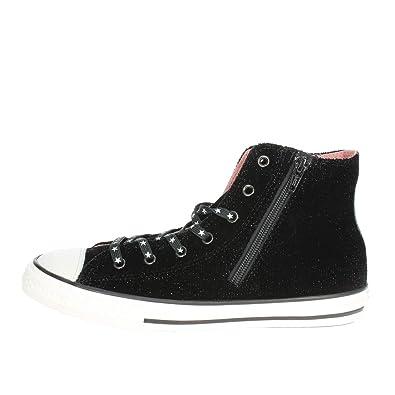 Converse Chuck Taylor CTAS Side Zip Hi, Zapatillas Unisex niños: Amazon.es: Zapatos y complementos