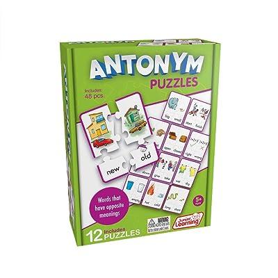 Junior Learning Antonym Puzzles: Toys & Games