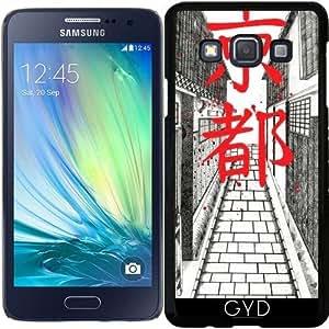 Funda para Samsung Galaxy A3 (SM-A300) - Kyoto street by Sophie Rousseau