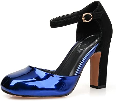 roi35 1TO9Sandales pour femme bleu bleu N0vmO8nw