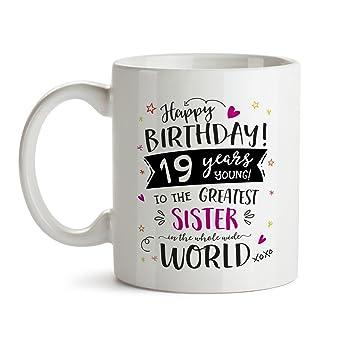 19th Happy Birthday Gift Mug