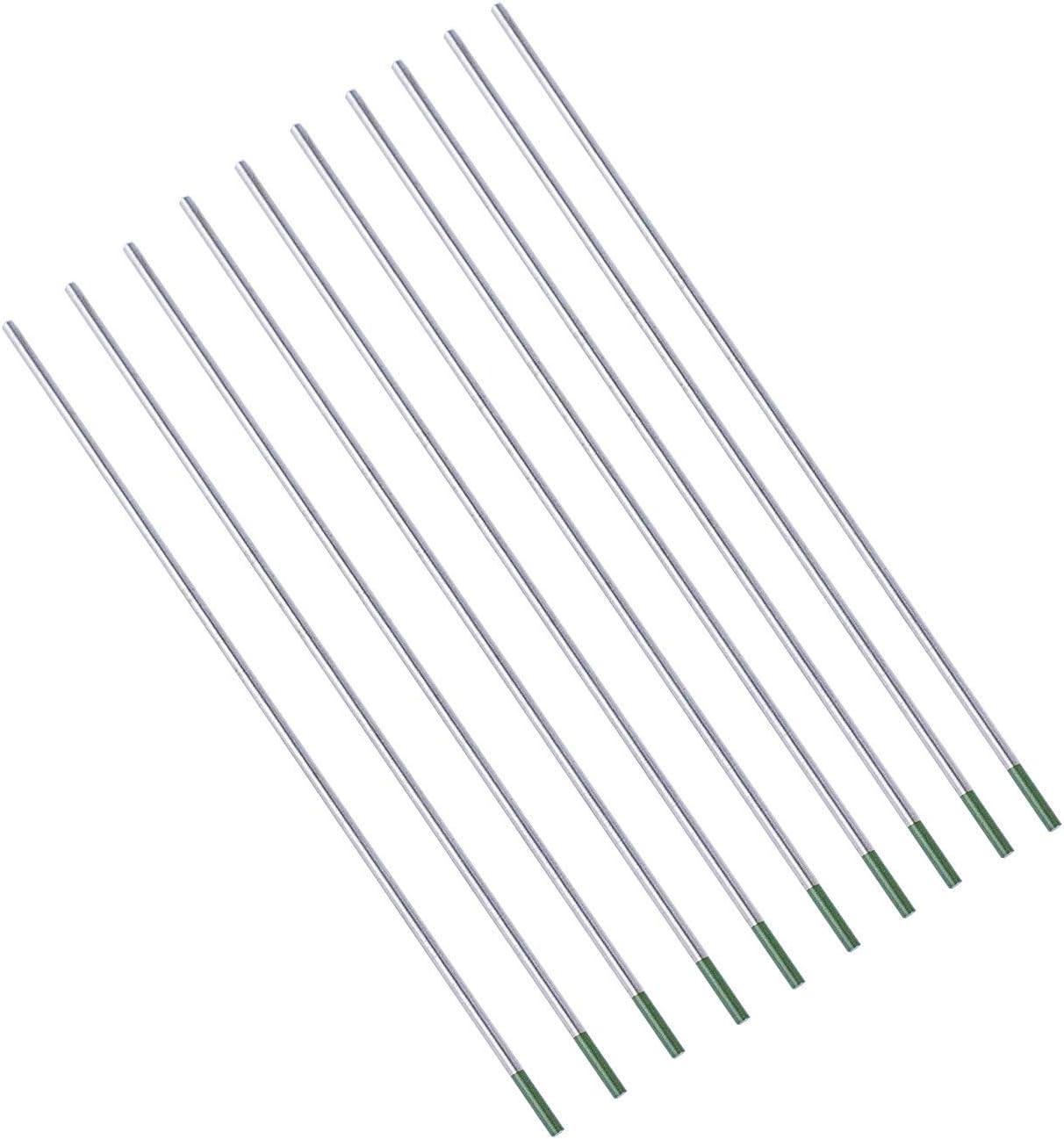 Package of 10 Pieces SenTECH TIG WT20 Welding 1.0 mm x175 mm Tungsten Electrodes Thorium 2/% Thorium Tungsten Electrode red