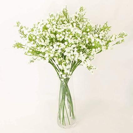 Amazon Com Winnsflora 10 Branches Pcs Gypsophila Baby Breath