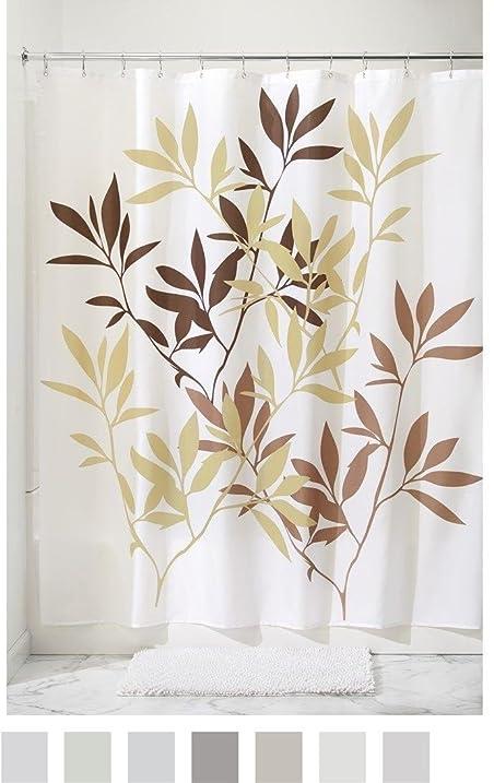 InterDesign Anzu Fabric Shower Curtain