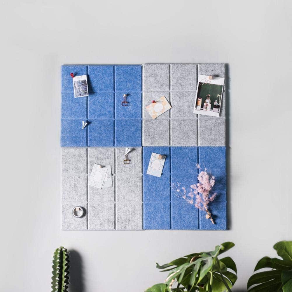 Grid Style Filz f/ür die Wanddekoration,Awhao Innovative Letter Note Board Message Board Planer Schedule Board Foto Filz f/ür die Wand Home Office Dekoration