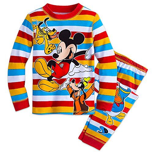 Disney Mickey Mouse and Friends PJ PALS Pajamas for Boys Size 3449031966167