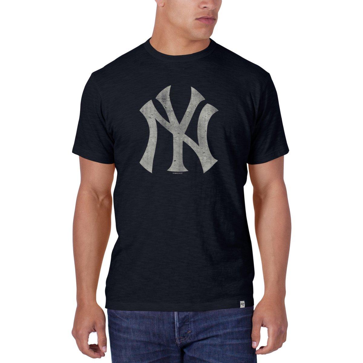 MLB New York Yankees Scrum Basic T-Shirt ('47 Brand) '47 Brand