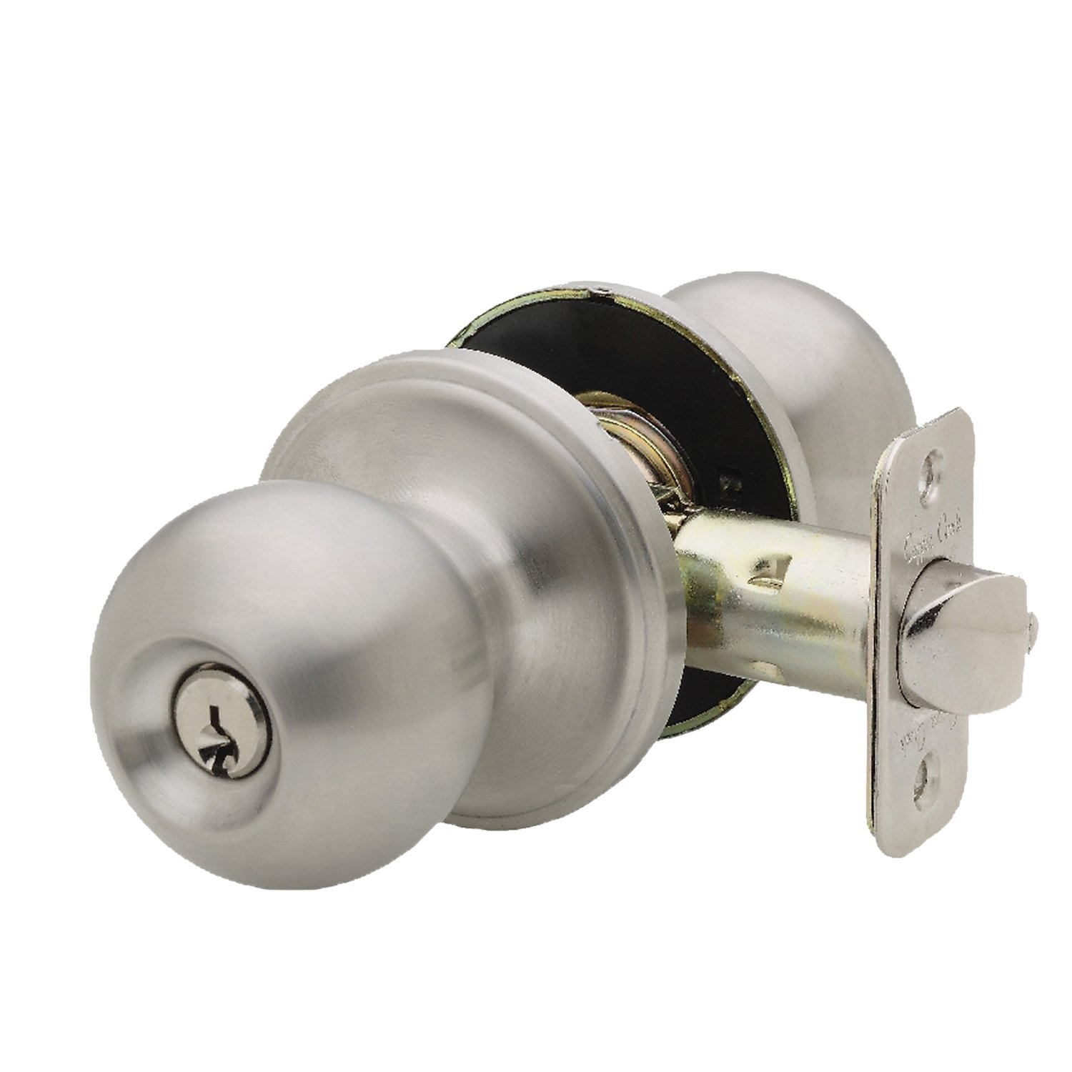 Copper Creek Bk2040ss Ball Entry Door Knob Satin
