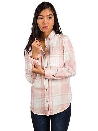Vans Damen Hemd lang Meridian III Flannel Shirt LS: Amazon