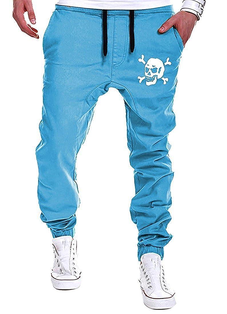 KEBINAI Pants PANTS メンズ B077RWXKX7  Ligblue*2 US X-Large