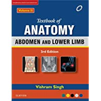 Textbook of Anatomy: Abdomen and Lower Limb - Vol. 2