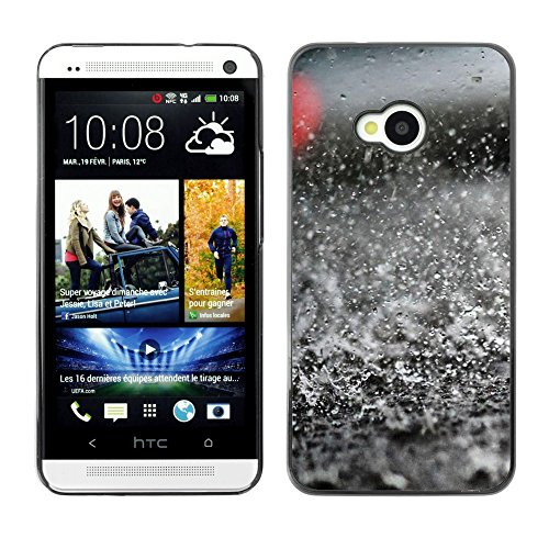 Soft Silicone Rubber Case Hard Cover Protective Accessory Compatible with HTC ONE M7 2013 - Plant Nature Forrest Flower 41