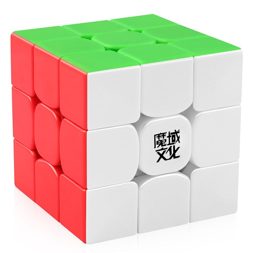 D-FantiX Moyu Weilong GTS V2 M Magnetic Speed Cube 3x3 Stickerless, Weilong GTS2 M Magic Cube Puzzle by D-FantiX
