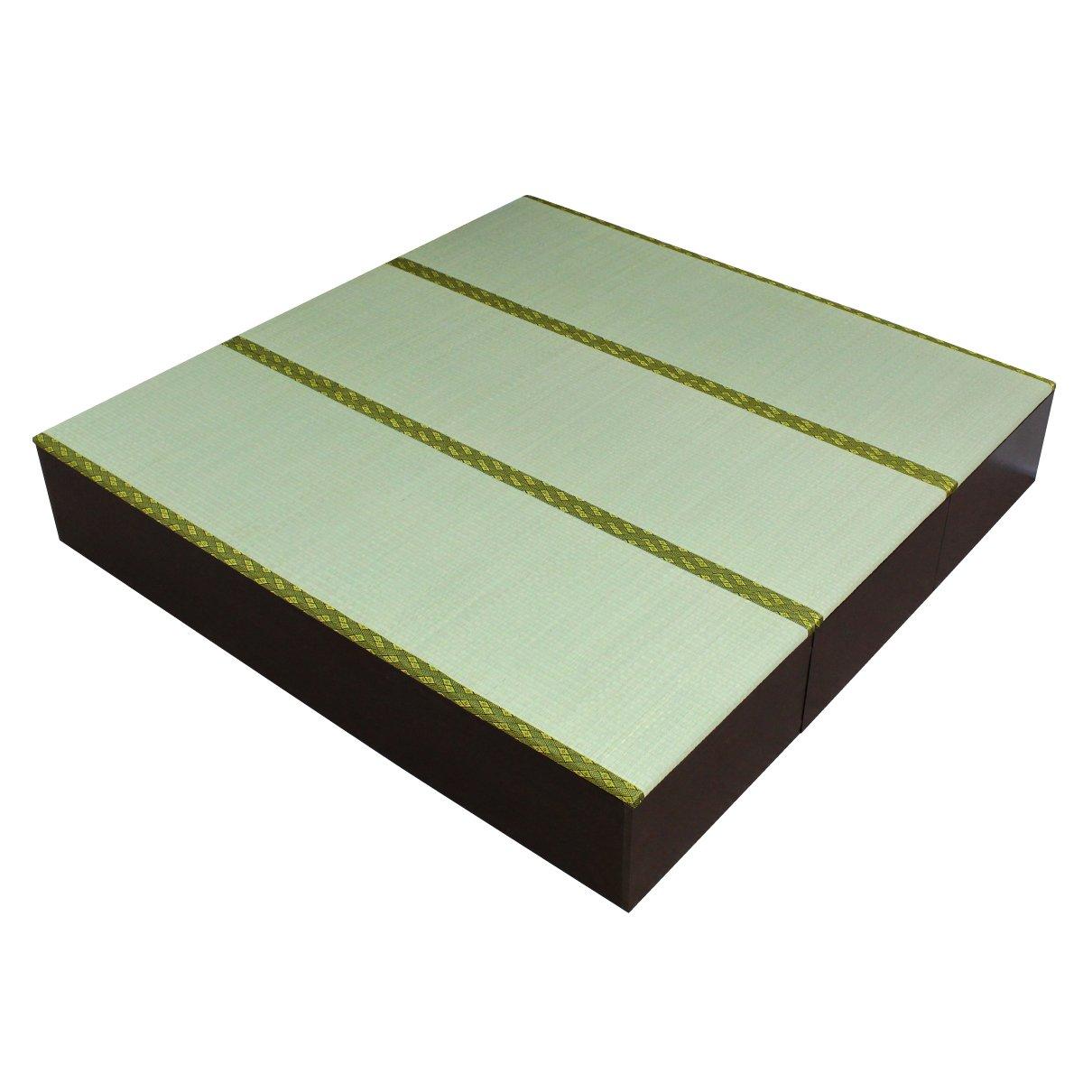 畳 ボックス 収納 高床式 ユニット 1.5畳タイプ3本 セット ダークブラウン IS-SET-L3 J-Supply   B00827HXFS