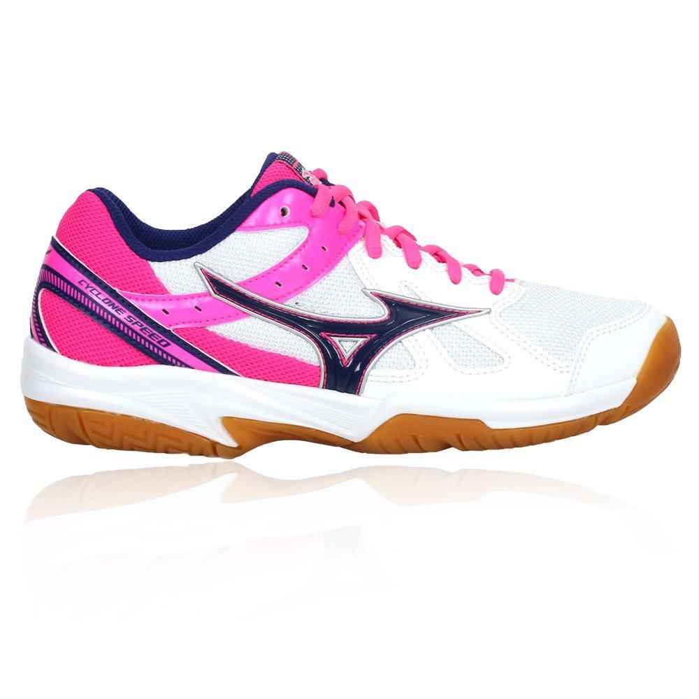 MIZUNO MIZUNO MIZUNO CYCLONE SPEED V1GC178025 Scarpe da volley donna bianco-rosa | Design lussureggiante  531c61