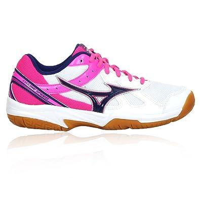 MIZUNO CYCLONE SPEED V1GC178025 Schuhe Damens da volley Damens Schuhe bianco rosa ... 7849f7