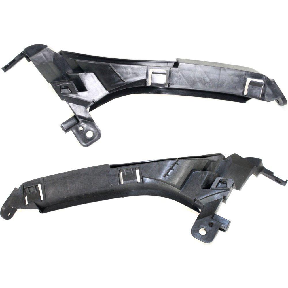 Evan-Fischer EVA20872059116 Headlight Filler for Honda CR-V 07-11 RH and LH Set of 2 Side Beam