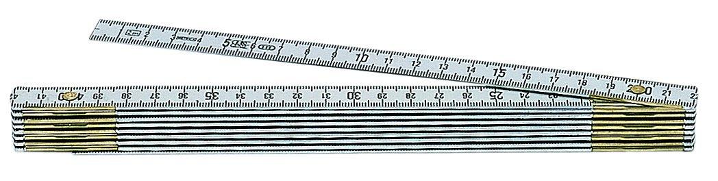 Metrica 20109 Alu-Gliedermassstab 1 m Nat