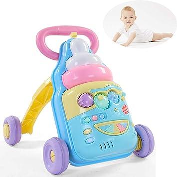 WDXIN Bebé Andador Juguete Niño pequeño Carro de la Compra ...