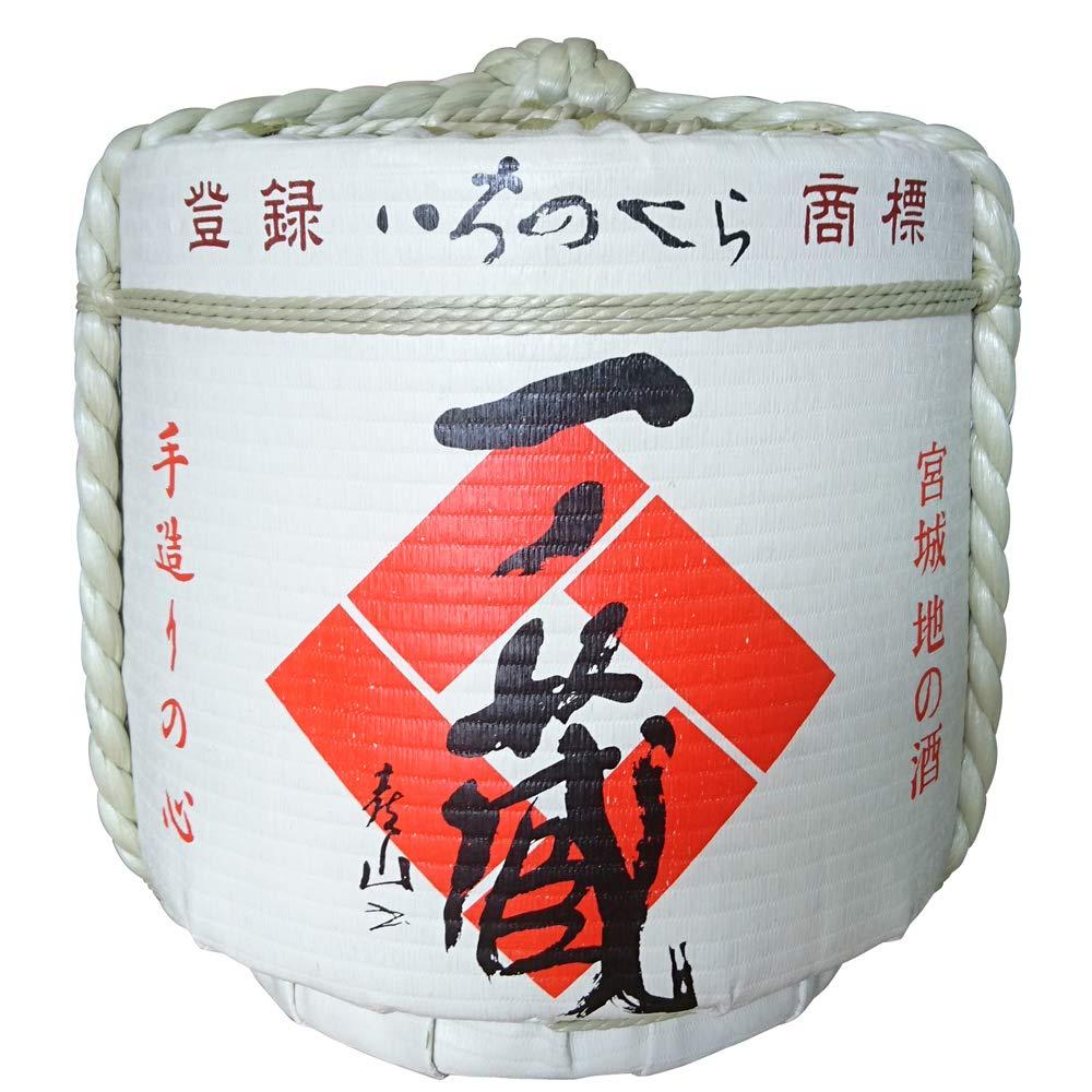 Replica Sake Barrel Ichinokura(36L Size) Japanese Traditional Crafts.
