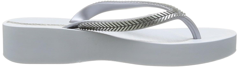 Ipanema Bella II, Damen Zehentrenner, Weiß (23141/white/silver), 40