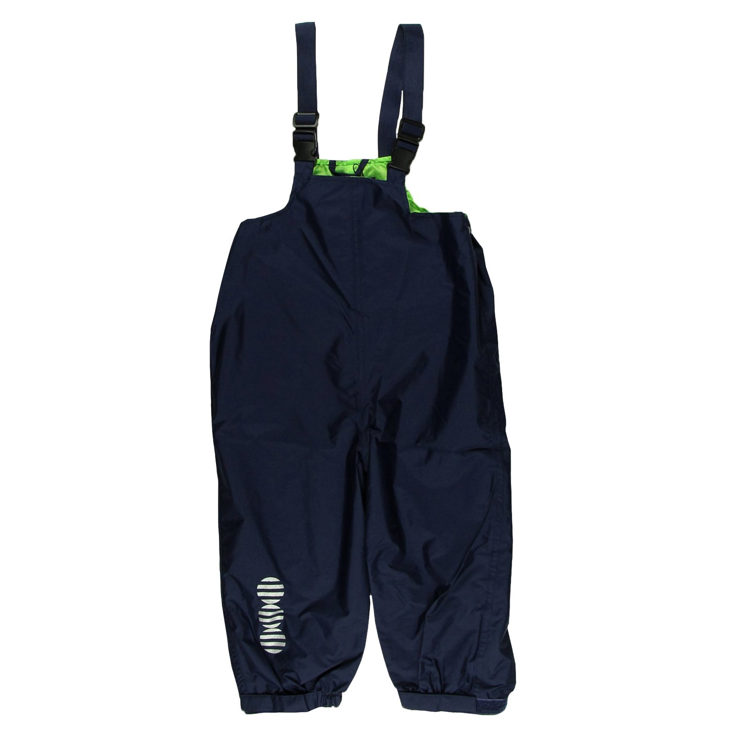 Minymo Boy's Basic 24 Overalls Solid Rain Trousers 3624