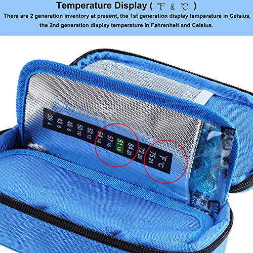 Temperature-Display-Insulin-Cooler-Travel-Case-with-Ice-Chill-Packs-Medical-Cooler-Bag-Diabetic-Organizer-Oxford-Fabric-8-x-4-Inch