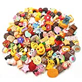 SAY OUT 50pc 3D Resin Random Cute Shoe Charms for