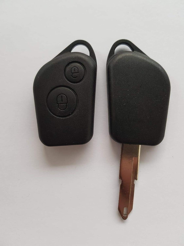 Membrane Bouton Poussoir Plastique Pour Cl/é Plip Peugeot 106 206 306 406 @Pro-Plip