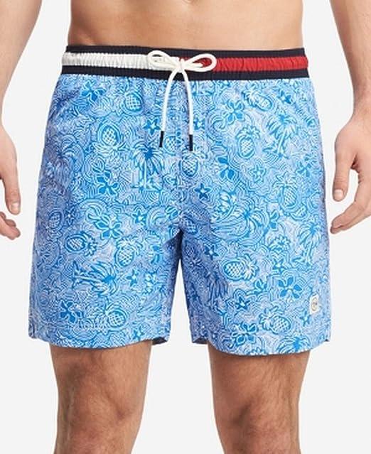 Tommy Hilfiger Mens Jordan Board Surf Swimwear Blue 2XL ...