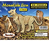 : Puzzled Mountain Lion 3D Woodcraft Construction Kit