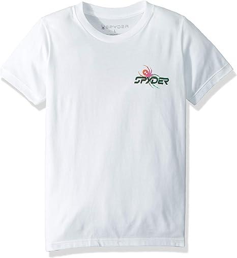 Spyder Radical 78 - Camiseta Deportiva de Manga Corta de algodón ...