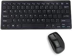 YILONG No hay Mini Teclado inalámbrico Ultra Delgado y ratón para Conjunto seleccionado de Samsung Smart TV