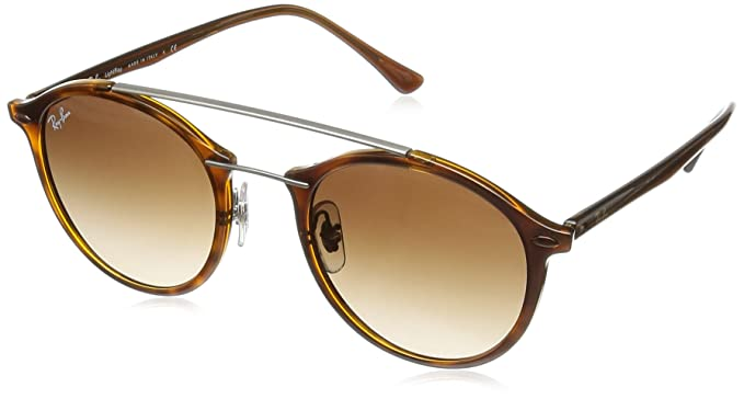 RAY-BAN Rb4266 Gafas de sol, Brown, 49 Unisex-Adulto