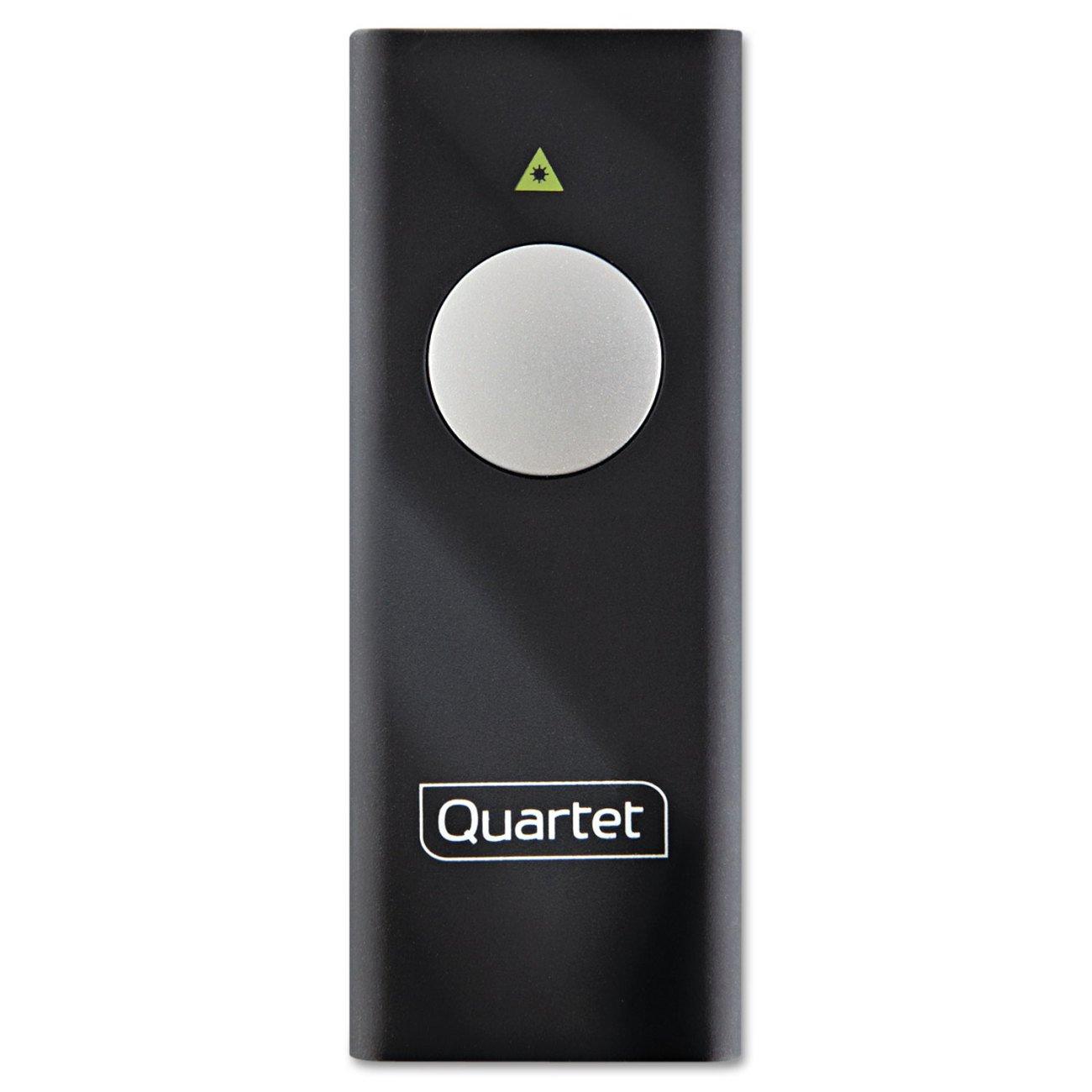 Quartet Slimline Laser Pointer, Black (84501) by Quartet