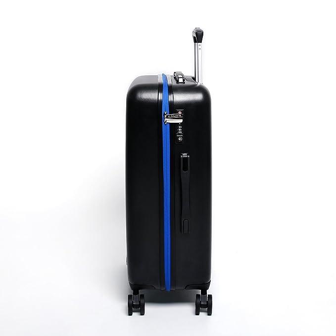 MarkenMerch Set de bagage noir Schwarz-Gelb BVB Dortmund 55 x 35 x 20 cm 67 x 43 x 26 cm 77 x 50 x 28 cm AoAC6F
