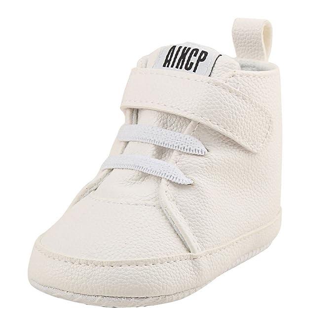 YanHoo Zapatillas de Deporte Infantiles Altas para Ayudar a los Zapatos Zapatillas de Inglaterra Zapatillas de bebé Zapatillas de bebé Zapatillas ...
