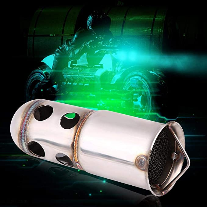51 Color : B5 51MM Inlet 60MM /échappement du Silencieux d/échappement de Moto Universel for R6 MT09 ninja400 Z250 Z900 Z1000 GSXR600 r3 r1 s1000rr