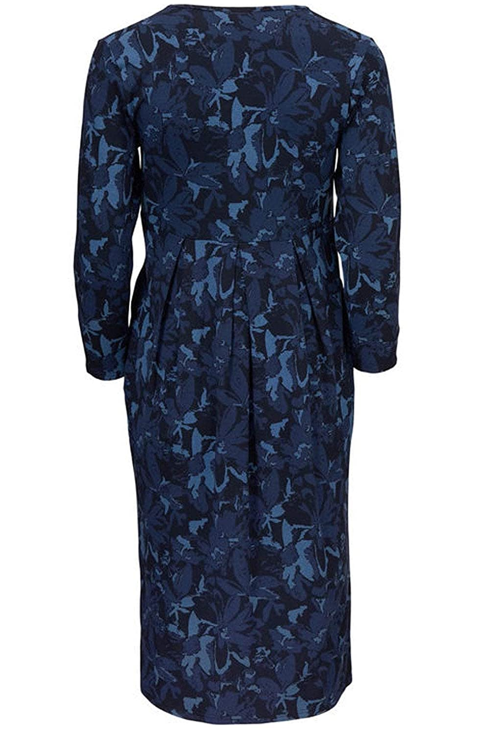 cf0d6c99b6f Masai Clothing - Ninet Abstract Floral Dress, Sapphire Org, XXLarge(UK18):  Amazon.co.uk: Clothing