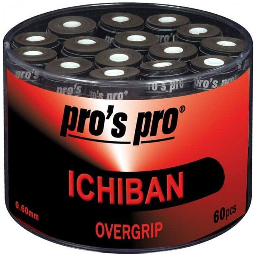 60 Overgrip Ichiban Tape tennis grips noir