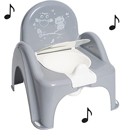 Maceta de baño Musical para Bebé infantil silla silla tema ...