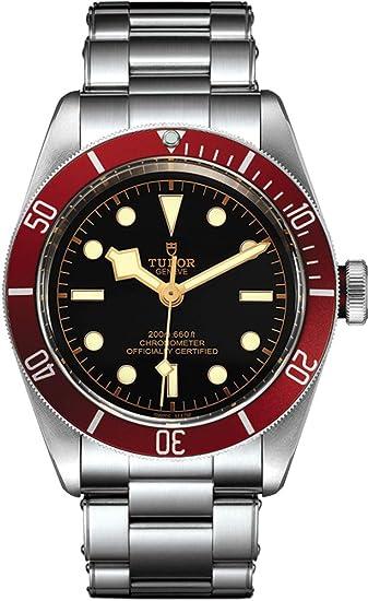 Tudor Patrimonio Negro Bahía 79230r Hombres del reloj