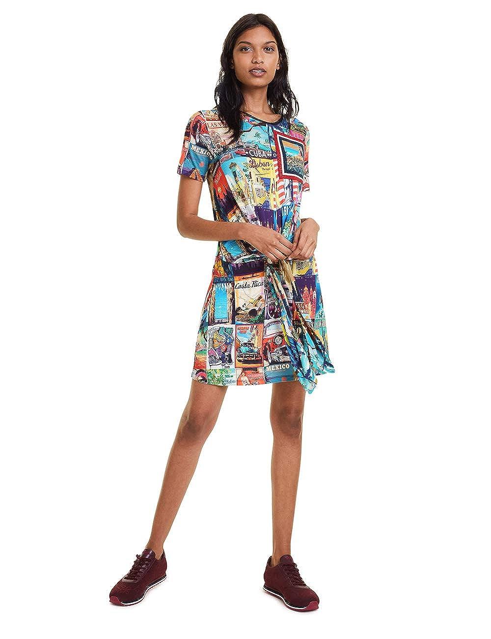 Desigual Dress Phoebe Vestito Donna